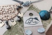 Jewelry / Locally made jewelry that we carry in our spa boutique.