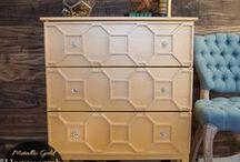 1 relooking meubles / muebles / idées de relooking et redécoration de meubles (chaises, commode, banc ...etc)