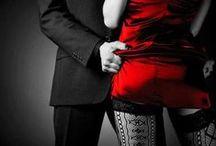Rouge Passion / Couleur de feu, de la convoitise, de l'esprit pétillant, de la passion! Le rouge donne de la combativité, de la volonté, du courage! Bien présent pour le meilleur et pour le pire comme la couleur de l'amour Il peut devenir sanguin et prendre le rôle de la colère, de la haine, de la cruauté et même du carnage!