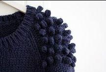 DIY tricot / différents points et techniques au tricot. Stitch, cables