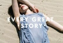 #EveryGreatStory / July 2016 Launch Collection // Shot by Maria Krapivko