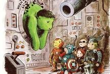 superheroes-marvel-dc comics
