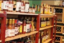 Gourmet / Various food and drink products we carry at Tamarack.