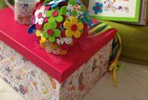 Devaneios de criatividade / Algumas coisas feitas por mim! Decoração de festas, presentes originais, entre outros! As minhas bricos!