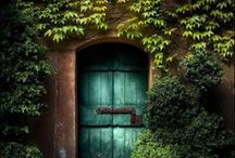 Portals to somewhere / Every doorway, every intersection has a story. - Katherine Dunn