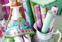 muñecas de tela / tutoriales de como hacer muñecas de tela. / by Loli Almazán Navarro