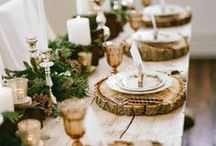 Winter Holidays / Creative winter holiday themes and decorations.