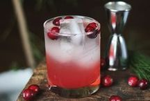 Christmas Cocktails / From hot buttered rums to hot toddies to rum blazers ... here are some of our favourite festive treats.