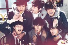 BoyFriend / Jeongmin / Minwoo / Kwangmin / Youngmin / Donghyun / Hyunseong