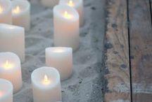 Lysinspirasjon / La det skinne på ditt arrangement. Vi viser eksempel på ulike lys til ulike bordsettinger.