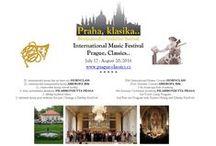 Krásná hudba v krásném prostředí / International Music Festival Prague, Classics.. Mezinárodní hudební festival Praha, klasika..