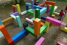 Playgrounds / dětská hřiště jinak