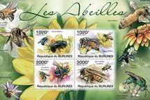 Sellos postales apícola / HERMOSOS SELLOS POSTALES DEL MUNDO - BEAUTIFUL WORLD POSTAGE STAMPS.
