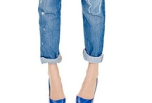 boyfriend denim looks / by Kim Davis