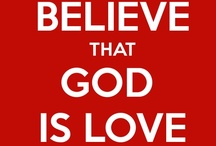 GOD = LOVE / by Elle Monique