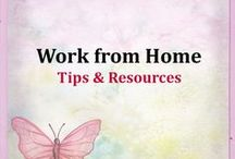 Work from Home Tips & Resources / Work from Home Jobs, Work from home ideas, Work from home tips, work at home jobs, anything related to working from home