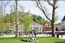 Ljubljana, a city with green soul / Ljubljana, a city with green soul, is a city boasting excellently preserved green spaces and countless pleasant green nooks and crannies even in the heart of the city centre.  Get to know Ljubljana, European Green Capital 2016!