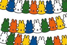 Miffy Illustrations  / Illustrations from beloved books about Miffy by Dick Bruna