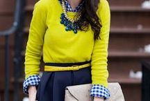 Color Combos That Work / The colors that go well together to make for a stunning outfit this winter.