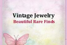 Vintage Jewelry / I love vintage jewelry. Saving beautiful vintage jewelry finds in this board.