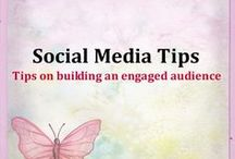 Social Media Tips / Tips on building an engaged audience and establishing your brand's presence across all your social media channels.