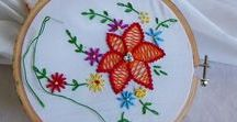 Embroidery Love / Embroidery patterns, embroidery stitches, embroidery ideas, embroidery flowers, embroidery for beginners, embroidery tutorials