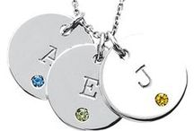 Personalized Jewelry / Customized, original, and unique, just like you. Monogram and personalized jewelry, ideas, and inspiration...