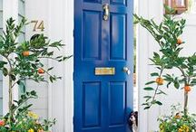 Doorways. / The doors will be opened to those who are bold enough to knock. ~ Tony Gaskins
