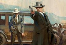 Mobsters.  The Real Deal. / A smile will get you pretty far...but a smile and a gun will get you farther.  ~  Al Capone