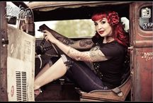 Pin up / Pin up pictures from the past to present day. Hot rod to lowrider culture. Various eras and styles.
