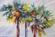 Palm Tree art