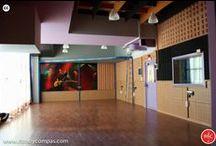 Locales Ensayo Hortaleza / Las Instalaciones del centro de Hortaleza, con 84 locales de ensayo insonorizados y escuela de musica moderna situado en Madrid