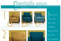 Essentially Yours / Essentially Yours as Simple as a,b,c and 1,2,3. Style your sofa your way with creative details that are chic but timeless. Whatever you desire, it's essentially yours. http://marshfieldfurniture.com/product/essentially-yours/?source=all