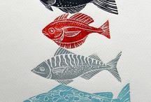Lino printing: ideas & inspiration