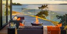 """Patio Pleasures. / """"Forget not that the earth delights to feel your bare feet and winds long to play with your hair."""" –Kahli Gibran"""