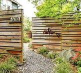 Fanciful Fencelines. / Good fences...make good neighbors. ~ Robert Frost