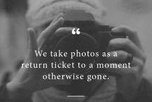 Fotographia. / Taking pictures is savoring life intensely, every hundredth of a second. ~Marc Riboud