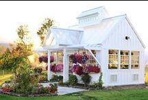 Garden Sheds & Retreats. / Gardening...the fine art of soul to soil. ~ Jan Bills