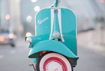 """Scoot, Scoot, Scoot. / """"Sure, give me an adventure and I'll ride it."""" Melissa Auf der Maur"""
