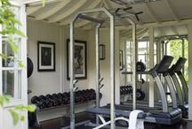 Home Gyms / Inspiration to Design your own home gym!