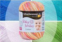 Baby Smiles Familie / Die weichsten Qualitätsgarne die nicht nur hautfreundlich sondern auch einfach zu waschen sind: perfekt für Babies