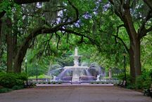 Savannah, GA / My favorite vacation spot!!  Been here two times so far. I love the South! / by Heather Lewis