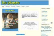 Magazine Les Plumes / Le magazine français de l'instruction en famille