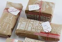 Balení dárků / Gift wrapping ideas