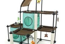 Kitty City / Kitty City products engage your pet in a variety of creative ways while standing up to typical use. They create a unique and cost-effective diversion to keep cats from destroying household furnishings.
