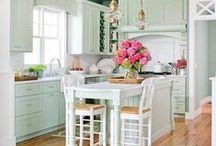 small kitchen ideas / by Debbie Henderson Zulak