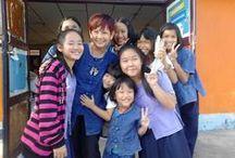 Voluntariado en Tailandia / Voluntarios en el mundo coordina proyectos de voluntariado en diferentes lugares de Asia; en Tailandia puedes colaborar en escuelas con niños y los proyectos están situados en las zonas rurales del norte del país, principalmente en las zonas de Chiang Rai.