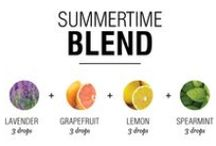Essential Oil for Summer / Oils and blends that will see you through the long sunny days ahead!