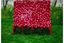 Panou cu flori din hartie !!!! / De vanzare  !