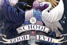 •The school of good and evil• / Four characters, two boys, two girls, two in each school of evil and good please. Not much to that. Invite anyone, and ya. Its based off the books, but its okay if you haven't read it. Im having 3 extra characters because im being the deans of both schools and the school master.